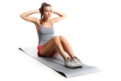 Gymnastiek- oefeningen Royalty-vrije Stock Afbeelding