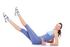 Gymnastiek- oefeningen Stock Afbeeldingen