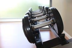 Gymnastiek voor geschiktheid en gezondheid En domooroefeningen Stock Foto