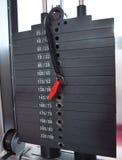 Gymnastiekgewichten Stock Foto