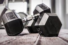 Gymnastiekgewichten Stock Afbeeldingen