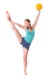gymnastik Royaltyfri Bild