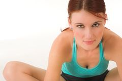 Gymnastik #19 Lizenzfreies Stockbild