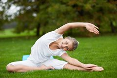 Gymnastik fotografering för bildbyråer