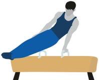 Gymnastik-künstlerischer Sport Lizenzfreie Stockfotografie