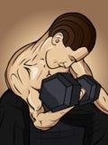 Gymnastik-Männer Lizenzfreie Stockbilder