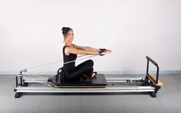 Gymnastik pilates Lizenzfreies Stockbild