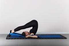 Gymnastik pilates Lizenzfreie Stockfotos