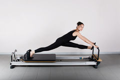 Gymnastik pilates Stockfotos