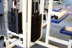 Gymnastikausrüstung Lizenzfreies Stockfoto