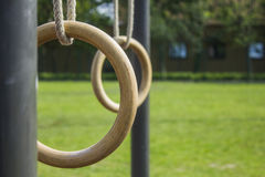 Gymnastikcirklar 1 Arkivbild