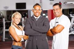 Gymnastikmanager und -kursleiter stockfoto