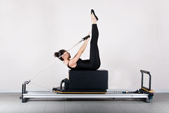 gymnastikpilates Fotografering för Bildbyråer