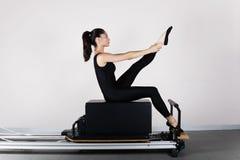 gymnastikpilates Royaltyfri Fotografi