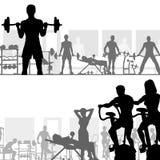 gymnastiksal Arkivbilder
