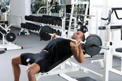 Gymnastiktraining Lizenzfreie Stockfotografie