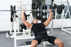 Gymnastiktraining Stockfotografie