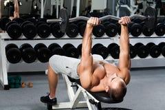 Gymnastiktraining Lizenzfreie Stockbilder