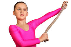 Gymnastique Image libre de droits