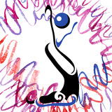 Gymnastique 7 Images libres de droits