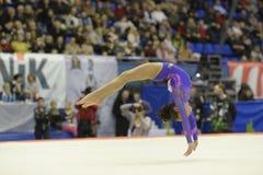 Gymnastique artistique Photos libres de droits