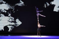 Gymnastique chinoise Images libres de droits