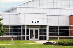 Gymnastique d'école Photos stock