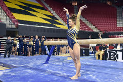 2015 gymnastique de dames de NCAA - WVU Images stock