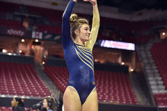 2015 gymnastique de dames de NCAA - WVU Photos stock