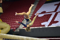 2015 gymnastique de dames de NCAA - WVU Photo stock
