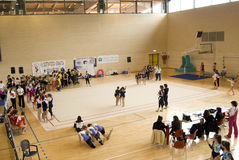 Gymnastique de la cuvette G.p.T de l'Italie Images libres de droits