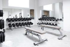 Gymnastique de matériel de formation de poids de club de forme physique photographie stock libre de droits
