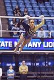 2015 gymnastique de NCAA - état de WVU-Penn Images stock