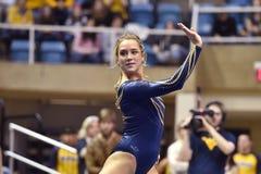 2015 gymnastique de NCAA - état de WVU-Penn Photographie stock