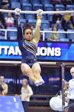 2015 gymnastique de NCAA - état de WVU-Penn Photo libre de droits