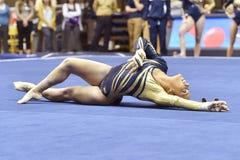 2015 gymnastique de NCAA - état de WVU-Penn Photographie stock libre de droits