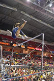 2015 gymnastique de NCAA - la Virginie Occidentale Photo stock