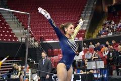 2015 gymnastique de NCAA - la Virginie Occidentale Photo libre de droits