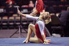 2015 gymnastique de NCAA - le Maryland Photos stock