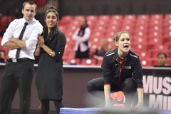 2015 gymnastique de NCAA - le Maryland Photographie stock libre de droits