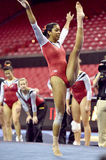 2015 gymnastique de NCAA - le Maryland Photos libres de droits