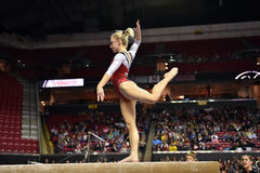 2015 gymnastique de NCAA - le Maryland Image libre de droits