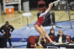 2015 gymnastique de NCAA - le Maryland Images stock