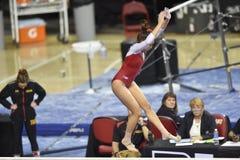 2015 gymnastique de NCAA - le Maryland Images stock