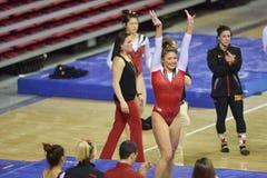 2015 gymnastique de NCAA - le Maryland Photographie stock libre de droits