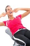 Gymnastique et forme physique images libres de droits