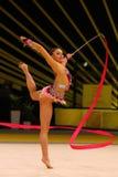 Gymnastique Grand prix de Rhytmic à Kiev, Ukraine Photographie stock libre de droits