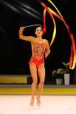 Gymnastique Grand prix de Rhytmic à Kiev, Ukraine Images libres de droits