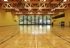 Gymnastique large, intérieure Photographie stock libre de droits