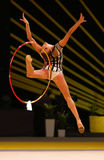 Gymnastique rythmique Grand prix à Kiev, Ukraine Photo stock
